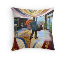 The Hotel Throw Pillow