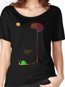 Creativity is intelligence having fun. Women's Relaxed Fit T-Shirt