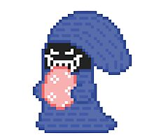 Pixel Egg Thief - Spyro Photographic Print