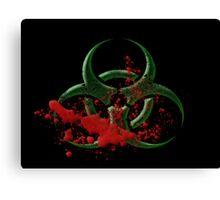 Bio-Hazard Canvas Print