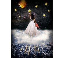 Catch a falling star Photographic Print