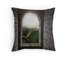 The Fairytale of a Great Wall... Throw Pillow