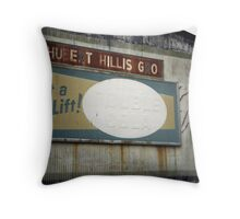 Vintage Soft Drink Sign Throw Pillow