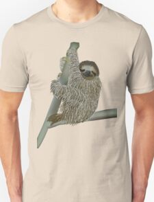 Slow Down and Savor Sloth Unisex T-Shirt
