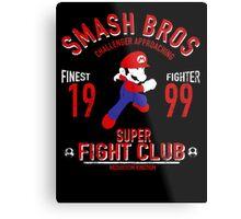 Mushroom Kingdome Fighter Metal Print