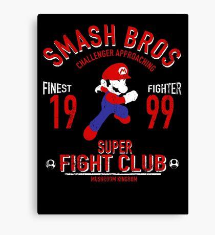 Mushroom Kingdome Fighter Canvas Print