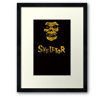 Skeletor Misfits Framed Print