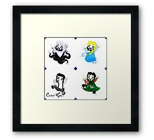 "Caleb Hyles, ""Fall For Disney, Showtunes Summer, and Nerd Week!""  Framed Print"