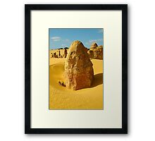 Standing in time, Nambung National Park Framed Print