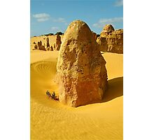 Standing in time, Nambung National Park Photographic Print