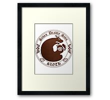 Grizzly's Sloth Framed Print