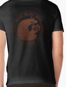 Grizzly's Sloth Mens V-Neck T-Shirt