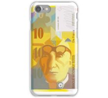 10 Swiss Francs note bill- front side iPhone Case/Skin