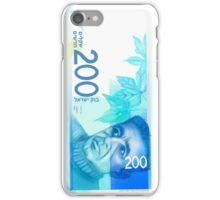 200 New Shekel edition note bill iPhone Case/Skin