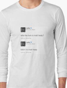Matt Healy Long Sleeve T-Shirt