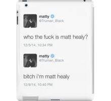 Matt Healy iPad Case/Skin