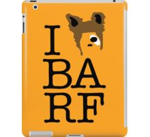 I Heart BA RF iPad Case/Skin
