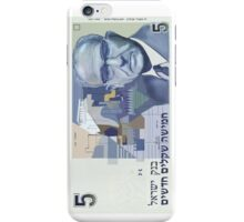5 old shekel note bill iPhone Case/Skin