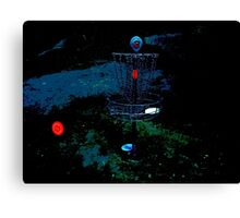 Psychedelic Basket Canvas Print