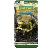 Discover(by land or by sea..) iPhone Case/Skin