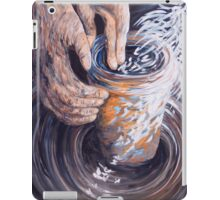 In the Potter's Hands iPad Case/Skin