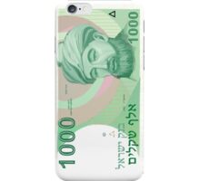 1000 Old Shekel Note Bill iPhone Case/Skin