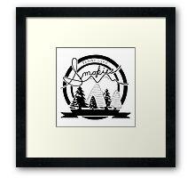 The Smokies - Tennessee Framed Print