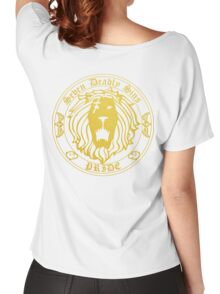 Lion's Pride Back Women's Relaxed Fit T-Shirt