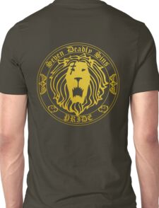 Lion's Pride Back Unisex T-Shirt