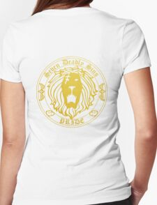 Lion's Pride Back Womens Fitted T-Shirt