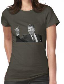 Ronald Reagan Flipping The Bird  T-Shirt