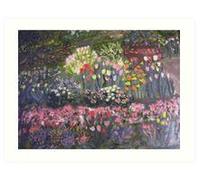 Little Flower Garden Art Print