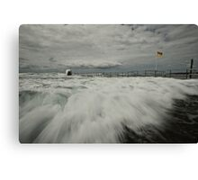 Incoming! Canvas Print