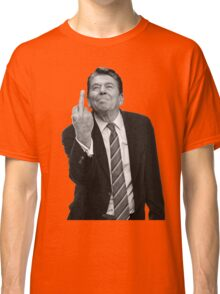 Ronald Reagan Middle Finger Classic T-Shirt