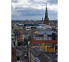 Copenhagen Skyline Photographic Print