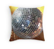 Large Disco ball Throw Pillow