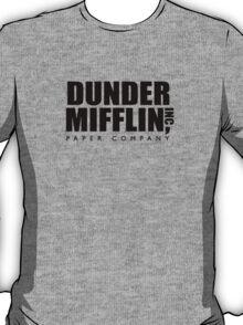Dunder Mifflin Paper Company Logo T-Shirt