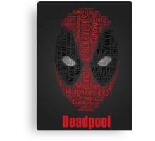 Deadpool  Canvas Print