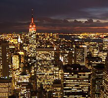 New York City at Night by TimDuck