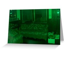 If My Living Room Were Green Greeting Card