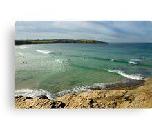 Cornish cove Canvas Print