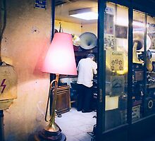 gramophone repair shop by meanderthal