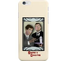 Jeeves and Wooster iPhone Case/Skin