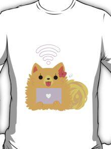 Pom Gets Wifi - Pom T-Shirt