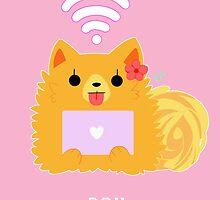 Pom Gets Wifi - Pom by Kyuupeach