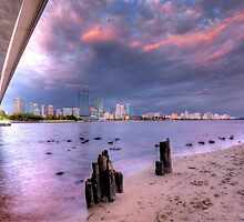 Perth City Skyline by Boyd Nesbitt