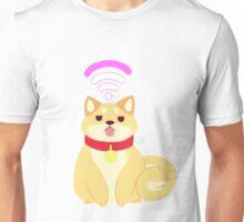 Pom Gets Wifi - Shibe Unisex T-Shirt