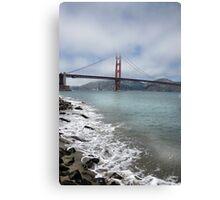 Golden Gate Bridge (Portrait) Canvas Print