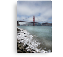 Golden Gate Bridge (Portrait) Canvas Print