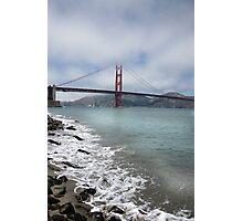 Golden Gate Bridge (Portrait) Photographic Print